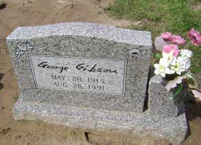 GIBSON, GEORGE - Lawrence County, Arkansas | GEORGE GIBSON - Arkansas Gravestone Photos