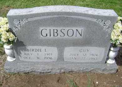 GIBSON, GUY - Lawrence County, Arkansas | GUY GIBSON - Arkansas Gravestone Photos