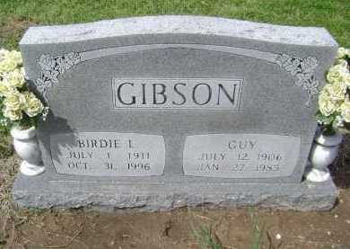 GIBSON, BIRDIE L. - Lawrence County, Arkansas | BIRDIE L. GIBSON - Arkansas Gravestone Photos