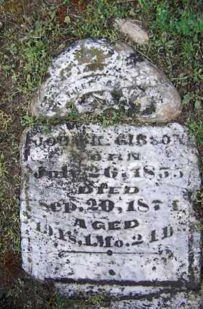 GIBSON, JOHN K. - Lawrence County, Arkansas | JOHN K. GIBSON - Arkansas Gravestone Photos