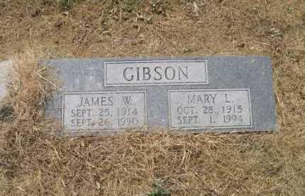 GIBSON, JAMES W. - Lawrence County, Arkansas   JAMES W. GIBSON - Arkansas Gravestone Photos