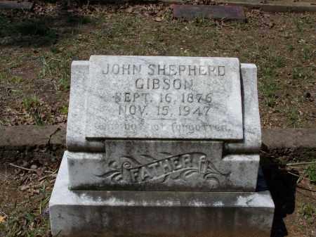 "GIBSON, JOHN SHEPHERD ""SHEP"" - Lawrence County, Arkansas | JOHN SHEPHERD ""SHEP"" GIBSON - Arkansas Gravestone Photos"