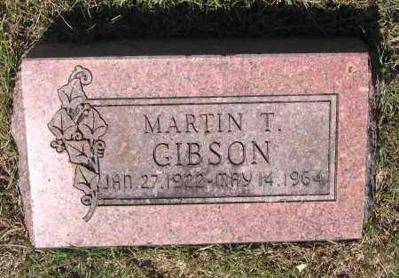 GIBSON, MARTIN T. - Lawrence County, Arkansas | MARTIN T. GIBSON - Arkansas Gravestone Photos