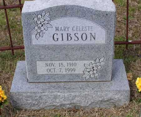 RUDY GIBSON, MARY CELESTE - Lawrence County, Arkansas | MARY CELESTE RUDY GIBSON - Arkansas Gravestone Photos