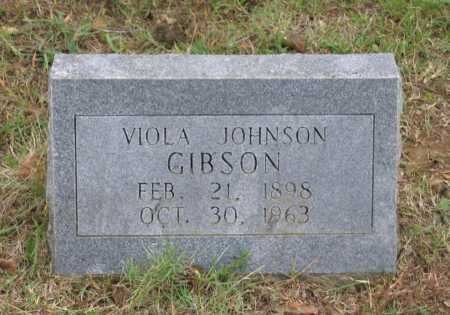 JOHNSON GIBSON, VIOLA - Lawrence County, Arkansas | VIOLA JOHNSON GIBSON - Arkansas Gravestone Photos