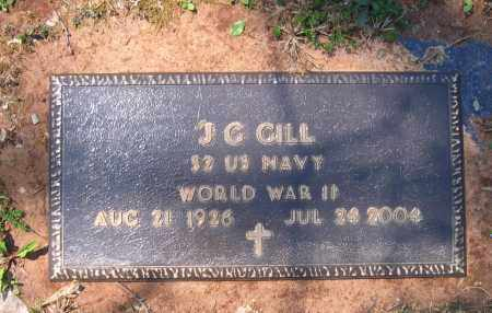 GILL (VETERAN WWII), J G - Lawrence County, Arkansas | J G GILL (VETERAN WWII) - Arkansas Gravestone Photos