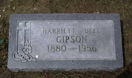 GIPSON, HARRIETT DELL - Lawrence County, Arkansas | HARRIETT DELL GIPSON - Arkansas Gravestone Photos