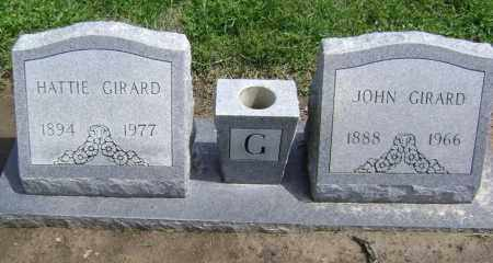 GIRARD, HATTIE - Lawrence County, Arkansas | HATTIE GIRARD - Arkansas Gravestone Photos