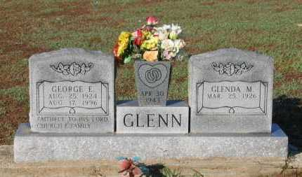 GLENN, SR., GEORGE ERWIN - Lawrence County, Arkansas | GEORGE ERWIN GLENN, SR. - Arkansas Gravestone Photos