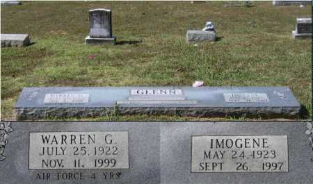 GLENN, WILMA IMOGENE - Lawrence County, Arkansas   WILMA IMOGENE GLENN - Arkansas Gravestone Photos