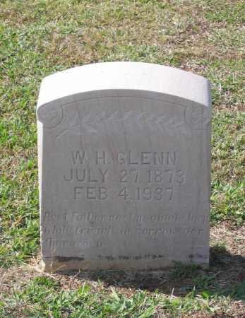 "GLENN, WILLIAM HARRISON ""W. H."" - Lawrence County, Arkansas | WILLIAM HARRISON ""W. H."" GLENN - Arkansas Gravestone Photos"