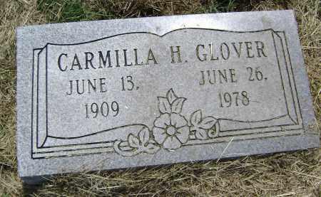 GLOVER, CARMILLA H. - Lawrence County, Arkansas | CARMILLA H. GLOVER - Arkansas Gravestone Photos