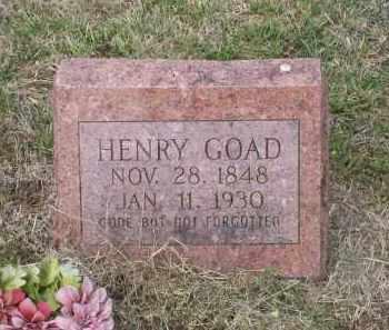 GOAD, SR. (VETERAN CSA), JAMES HENRY - Lawrence County, Arkansas | JAMES HENRY GOAD, SR. (VETERAN CSA) - Arkansas Gravestone Photos