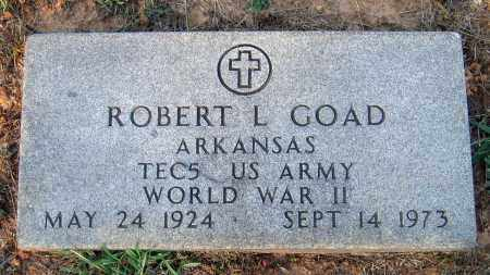 GOAD (VETERAN WWII), ROBERT L - Lawrence County, Arkansas | ROBERT L GOAD (VETERAN WWII) - Arkansas Gravestone Photos