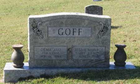 GOFF, JESSIE MONROE - Lawrence County, Arkansas | JESSIE MONROE GOFF - Arkansas Gravestone Photos