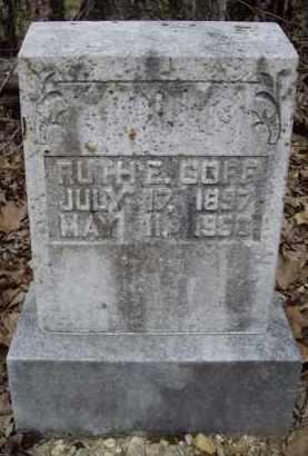 ABEE GOFF, RUTH ETTA - Lawrence County, Arkansas | RUTH ETTA ABEE GOFF - Arkansas Gravestone Photos