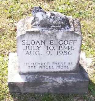 GOFF, SLOAN EDMOND - Lawrence County, Arkansas | SLOAN EDMOND GOFF - Arkansas Gravestone Photos