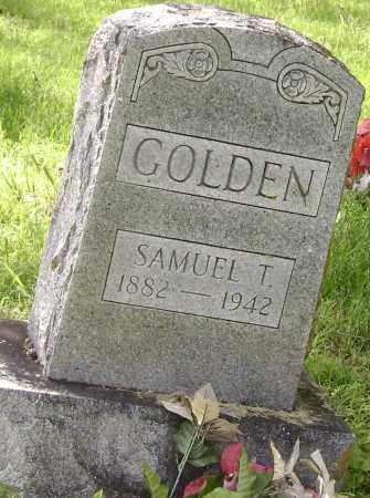 GOLDEN, SAMUEL T - Lawrence County, Arkansas | SAMUEL T GOLDEN - Arkansas Gravestone Photos