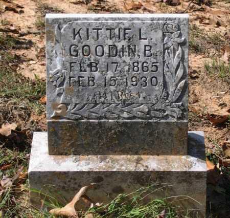 GOODIN, KITTIE L. - Lawrence County, Arkansas | KITTIE L. GOODIN - Arkansas Gravestone Photos