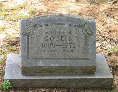 GOODIN (VETERAN WWI), MILTON H. - Lawrence County, Arkansas | MILTON H. GOODIN (VETERAN WWI) - Arkansas Gravestone Photos