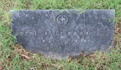 GOODRUM (VETERAN WWII), CECIL DALE - Lawrence County, Arkansas | CECIL DALE GOODRUM (VETERAN WWII) - Arkansas Gravestone Photos