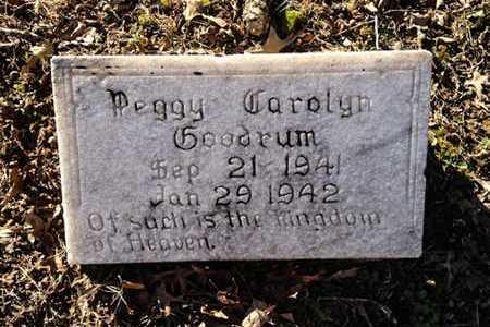 GOODRUM, PEGGY CAROLYN - Lawrence County, Arkansas   PEGGY CAROLYN GOODRUM - Arkansas Gravestone Photos