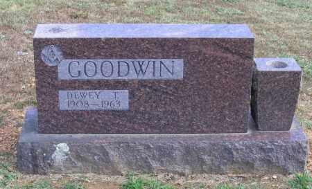 GOODWIN, DEWEY T. - Lawrence County, Arkansas | DEWEY T. GOODWIN - Arkansas Gravestone Photos