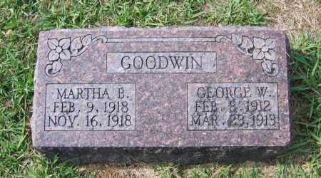 GOODWIN, GEORGE W. - Lawrence County, Arkansas | GEORGE W. GOODWIN - Arkansas Gravestone Photos
