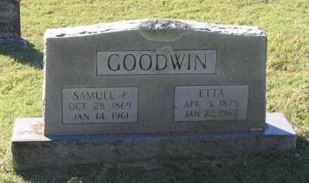 GOODWIN, SAMUEL PLEASANT - Lawrence County, Arkansas | SAMUEL PLEASANT GOODWIN - Arkansas Gravestone Photos