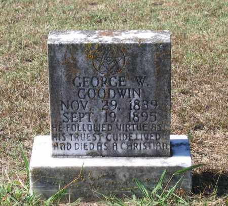 GOODWIN (VETERAN CSA), GEORGE W - Lawrence County, Arkansas | GEORGE W GOODWIN (VETERAN CSA) - Arkansas Gravestone Photos
