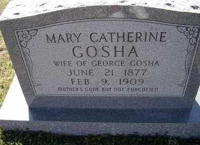 HUBBARD GOSHA, MARY CATHERINE - Lawrence County, Arkansas | MARY CATHERINE HUBBARD GOSHA - Arkansas Gravestone Photos