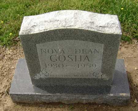 MARTIN GOSHA, NOVA DEAN - Lawrence County, Arkansas   NOVA DEAN MARTIN GOSHA - Arkansas Gravestone Photos