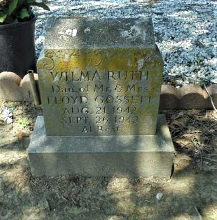 GOSSETT, WILMA RUTH - Lawrence County, Arkansas | WILMA RUTH GOSSETT - Arkansas Gravestone Photos