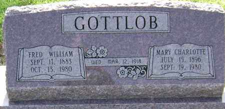 GOTTLOB, FRED WILLIAM - Lawrence County, Arkansas | FRED WILLIAM GOTTLOB - Arkansas Gravestone Photos