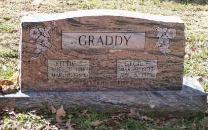 HACKER GRADDY, RITTIE JANE - Lawrence County, Arkansas | RITTIE JANE HACKER GRADDY - Arkansas Gravestone Photos