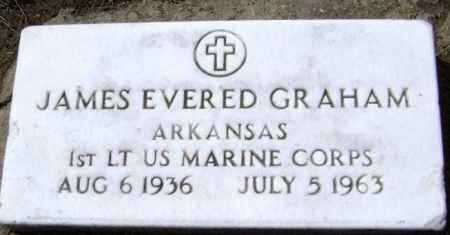 GRAHAM  (VETERAN), JAMES EVERED - Lawrence County, Arkansas | JAMES EVERED GRAHAM  (VETERAN) - Arkansas Gravestone Photos