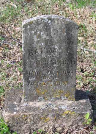 GRAHAM, BAMMA I. - Lawrence County, Arkansas   BAMMA I. GRAHAM - Arkansas Gravestone Photos