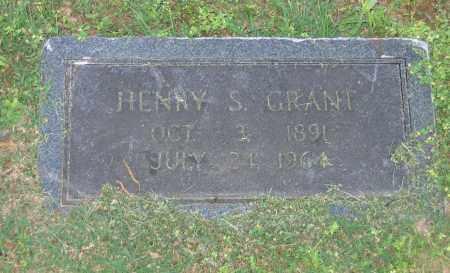 GRANT, HENRY S. - Lawrence County, Arkansas | HENRY S. GRANT - Arkansas Gravestone Photos