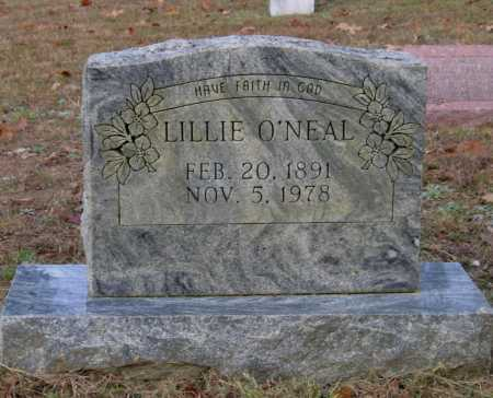 O'NEAL, LILLIE M. FRISBEE GRAVES WOOD - Lawrence County, Arkansas | LILLIE M. FRISBEE GRAVES WOOD O'NEAL - Arkansas Gravestone Photos