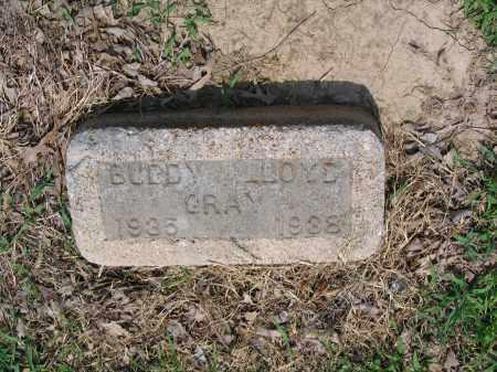 GRAY, BUDDY LLOYD - Lawrence County, Arkansas | BUDDY LLOYD GRAY - Arkansas Gravestone Photos