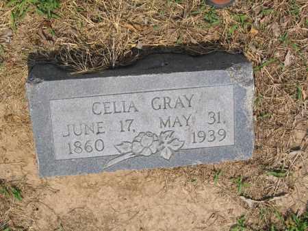 GRAY, CELIA - Lawrence County, Arkansas | CELIA GRAY - Arkansas Gravestone Photos