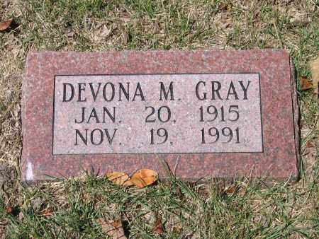 GRAY, DEVONA M. - Lawrence County, Arkansas | DEVONA M. GRAY - Arkansas Gravestone Photos