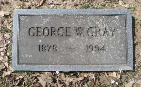 GRAY, GEORGE WASHINGTON - Lawrence County, Arkansas | GEORGE WASHINGTON GRAY - Arkansas Gravestone Photos