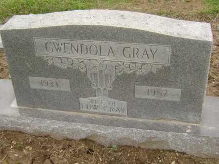 GRAY, GWENDOLA - Lawrence County, Arkansas | GWENDOLA GRAY - Arkansas Gravestone Photos