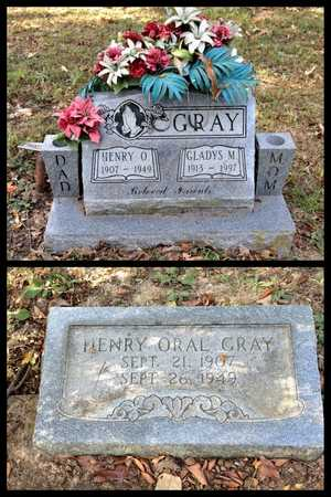 GRAY, HENRY ORAL - Lawrence County, Arkansas | HENRY ORAL GRAY - Arkansas Gravestone Photos