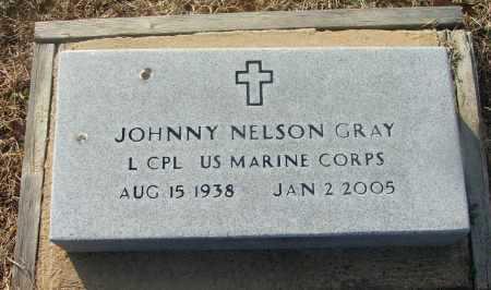 GRAY (VETERAN), JOHNNY NELSON - Lawrence County, Arkansas | JOHNNY NELSON GRAY (VETERAN) - Arkansas Gravestone Photos