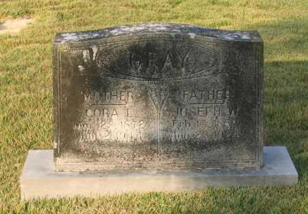 GRAY, JOSEPH W. - Lawrence County, Arkansas   JOSEPH W. GRAY - Arkansas Gravestone Photos