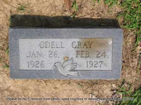 GRAY, ODELL - Lawrence County, Arkansas   ODELL GRAY - Arkansas Gravestone Photos