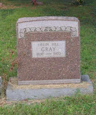 HILL GRAY, ORION - Lawrence County, Arkansas | ORION HILL GRAY - Arkansas Gravestone Photos