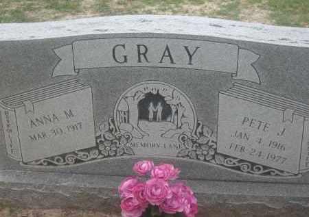 GRAY, PETE JAMES - Lawrence County, Arkansas | PETE JAMES GRAY - Arkansas Gravestone Photos